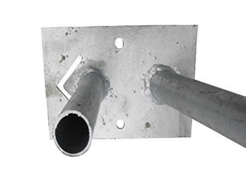 10 St/ück Bauzaun Erdh/ülse zum Verankern von Bauz/äunen//Mobilz/äunen in weichem Untergrund