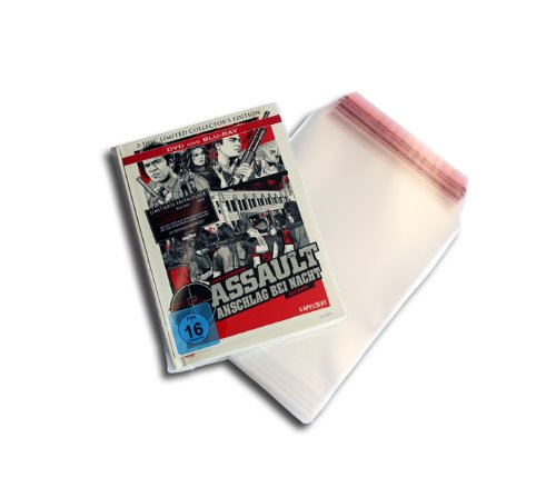 Blu-ray Mediabook Schutzhüllen Premium (50 Stück)