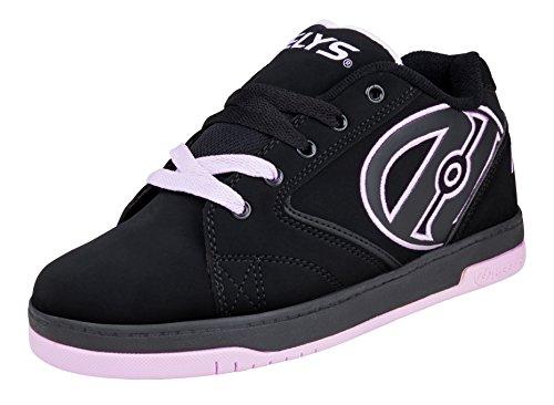 Heelys Zapatillas para Niños, Negro (Black/Lilac), 36.5 EU