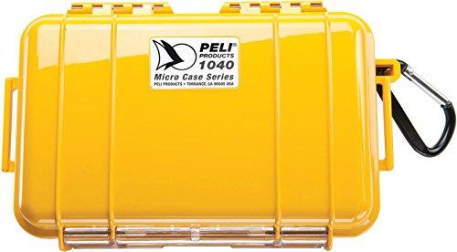 Peli Micro Case 1040, geel