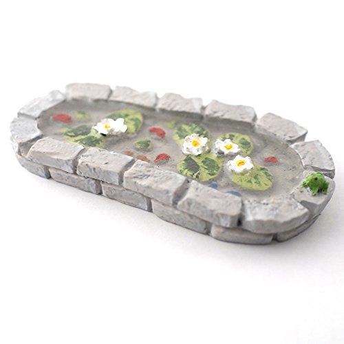 Miniatur Feengarten Teich, Maßstab 1/12, Feengarten-Zubehör