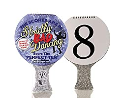 WHATEVER THE PERFORMANCE, BE READY TO SCORE – No matter what the performance, be ready to judge and score with this family fun number scoring paddle GREAT FUN FOR ALL THE FAMILY – Whether it's the kids being embarrassed by Dad dancing or you're fed u...