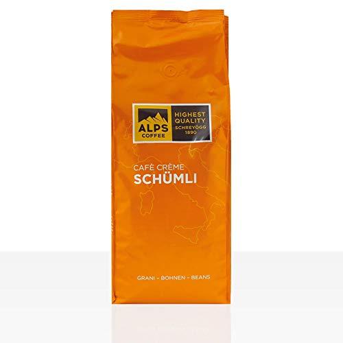 Schreyögg Kaffee Espresso - Schümli Cafe Creme, 1000g Bohnen