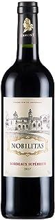 【红宝石色酒体、圆润饱满、紧实厚重】法国原瓶进口红酒 优质波尔多AOC级 雾榭园干红葡萄酒单支装