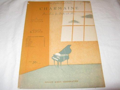 CHARMAINE ERNO RAPEE 1946 SHEET MUSIC FOLDER 427 SHEET MUSIC
