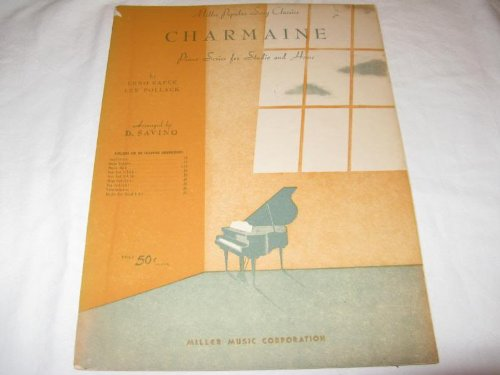 CHARMAINE ERNO RAPEE 1946 SHEET MUSIC FOLDER 427 SHEET MUSIC
