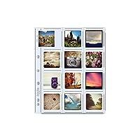 印刷ファイルアーカイブストレージページの2.5X 2.5インチの印刷、10パック