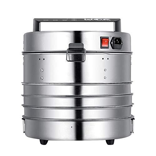Lowest Price! Digital Food Dehydrator Electric Food Preserver Vegetable Flower Snack Dryer With Five...