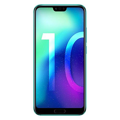 Honor 10 Smartphone Débloqué 4G (5,84 Pouces - 128 Go - Nano SIM - Android 8.1) Phantom Green [Version...
