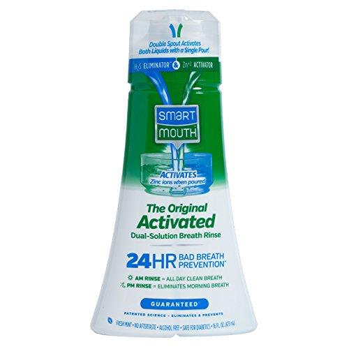 SmartMouth Original Mouthwash, Mint, 16 Fluid Ounce (Pack of 9 )