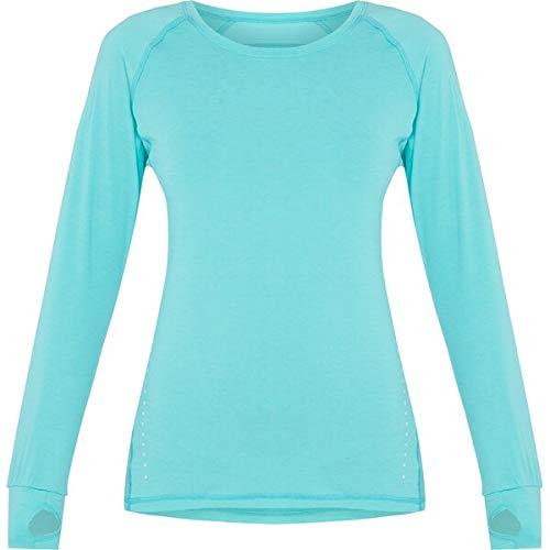 Pro Touch T- Shirt Manches Longues Eeva Femme, Melange/Noir, FR : S (Taille Fabricant : 34)