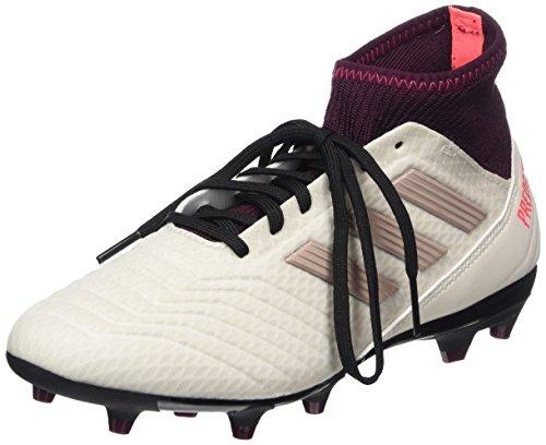 Adidas Predator 18.3 FG W, Botas de fútbol para Mujer, Multicolor (Talco/Grmeva/Granat 000), 37 1/3 EU