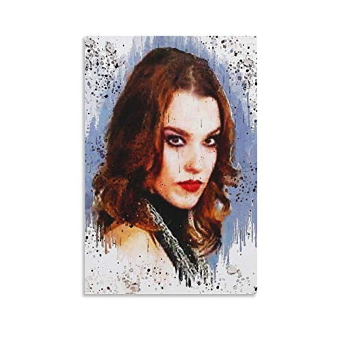 great Lzzy Hale Wall Art Poster Decorative Painting Canvas Wall Art Living Room Posters Bedroom Painting 12×08inch(30×20cm)