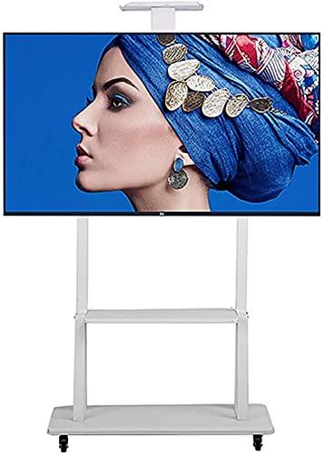 Soporte para TV móvil, marco universal para televisión, base de altura ajustable de 32 a 70 pulgadas, pantalla de plasma, 600 x 400 mm, casete de freno, puede acomodar 100 kg