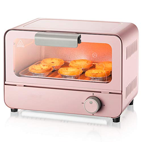 Purchase STAR BABY 6L Electric Mini Oven With Light Multi Cooking Function& Grill Timer 800W Easy-to...