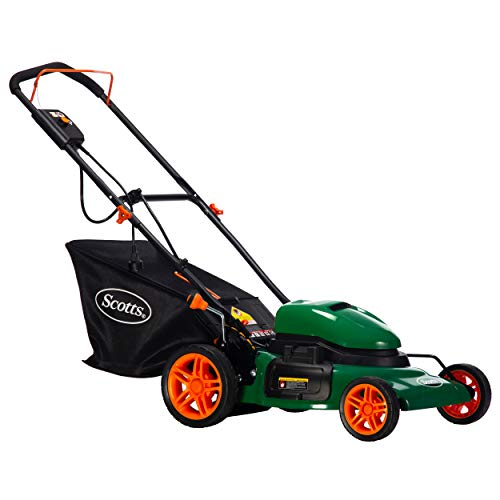 Scotts Outdoor Power Tools 50620S 20-Inch Steel Deck 12-Amp Corded Electric Lawn Mower, Black