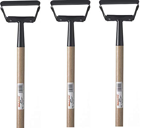 Best Review Of Flexrake 1000L Hula-Ho Weeder Cultivator with 54-Inch Wood Handle (Тhrее Расk)