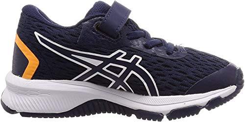 ASICS Unisex-Child 1014A151-001_32,5 Running Shoes, Navy, 32.5 EU