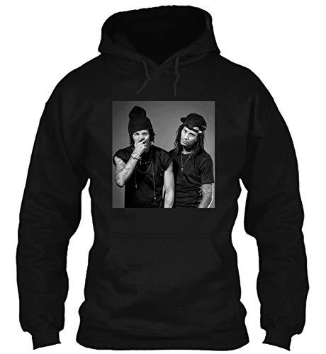 Les Twins, Laurent and l-arry Bourgeois hdb 12 T-Shirt - Hoodie - Crewneck Sweatshirt Black