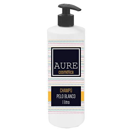 Aure AU205465 Champú Pelo Blanco, 1L