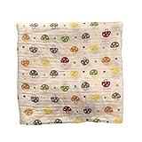 120x120cm Muselina manta para bebé envoltura para bebé algodón 100% Recién nacido Toalla de baño para bebé Mantas para manta Diseños múltiples Funciones-Multi-color-1
