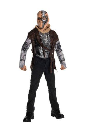 Terminator Salvation Movie Child's Costume Deluxe T600, Medium