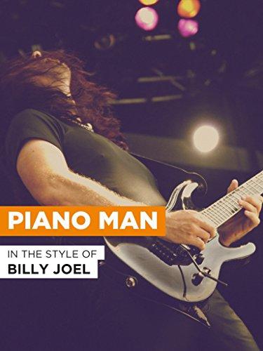 Piano Man im Stil von