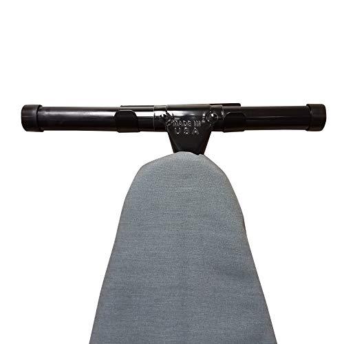 HOMZ T Leg Ironing Board Holder, Black