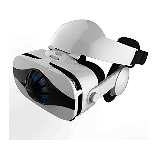 HDCDKKOU Auriculares VR para teléfonos iOS y Android - Gafas de Realidad Virtual |Cómodo y Ajustable VR Glasse |Juega Tus Mejores películas móviles 3D 3D 360