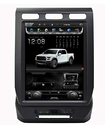 Best Price Android 7.1 GPS NAVI in-Dash Head Unit for Ford F150 2019 12.1inch Telsa Style Vertical I...