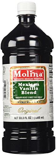 Molina Vainilla Mexican Vanilla Blend Vanillin Extract 33.3oz