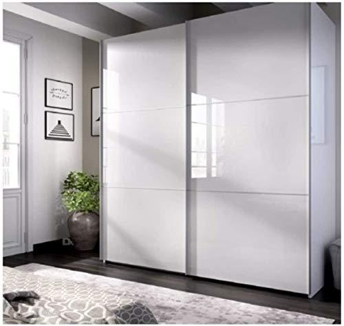 Armarios Dormitorio Blanco Brillo Marca DECOR NATUR