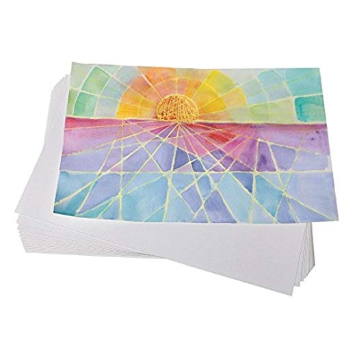 S&S Worldwide PE861 Watercolor Paper, 11'x17', 80-lb. (Pack of 100)