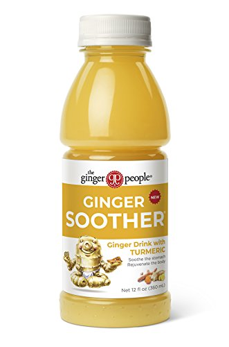 The Ginger People Ginger Soother with Turmeric, 12 Ounce, Pack of 24