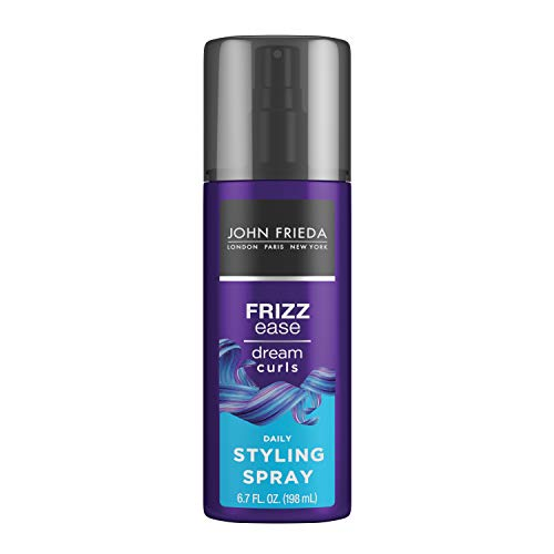 John Frieda Frizz Ease Dream Curls Spray, Daily Styling Spray, Magnesium-enriched Formula, Revitalizes Natural Curls, 6.7 Ounce