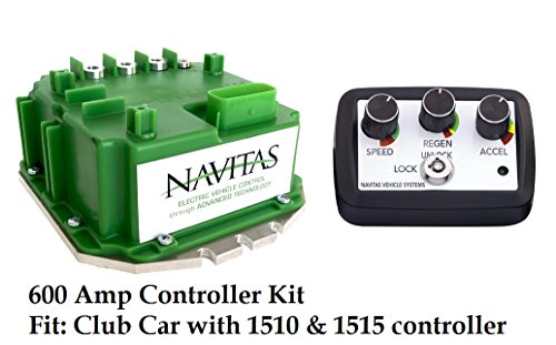 Check Out This Navitas Club Car Precedent & DS 600 Amp Controller, with On The Fly Programmer