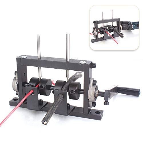 Denudeur cable electrique,Kecheer Perceuse électrique manuelle Machine à dénuder les câbles à double usage Décapant pour 1-30mm