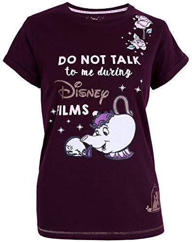 Camiseta Morada Tetera Sra. Potts Disney XS