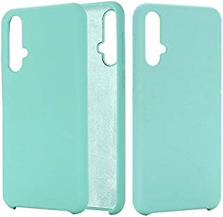 XIANGBAO-Personality case Agiotage Ultra Slim Shockproof Liquid Silicone Diffused Rubber Comfortable Protective Case Compatible with for Huawei Nova 5/Nova 5 Pro (Color : Light Blue)