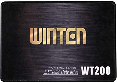 SSD 256GB 5年保証 WT200-SSD-256GB WINTEN 内蔵型SSD SATA3 6Gbps 3D NANDフラッシュ搭載 デスクトップパソコン、ノートパソコン、PS4にも使える2.5インチ エラー訂正機能 省電力 衝撃に強い 2.5inch 5589