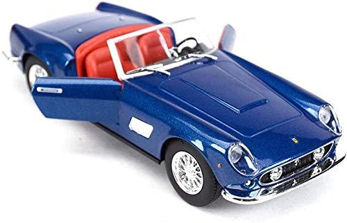 THKZH Modello di Auto in Miniatura 1:24 Auto di FAMA Mondiale 250Gt Auto Sportiva Simulazione Statica Modello in Lega Pressofuso Modello di Auto per Adulti