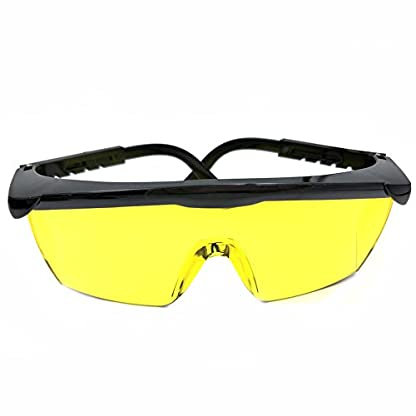 Nikauto UV Flashlight Black Light 51 LED Flashlight and UV Protective Glasses Goggles detector tool for Detecting pet Cat Dog Urine Repairing car Checking money 2