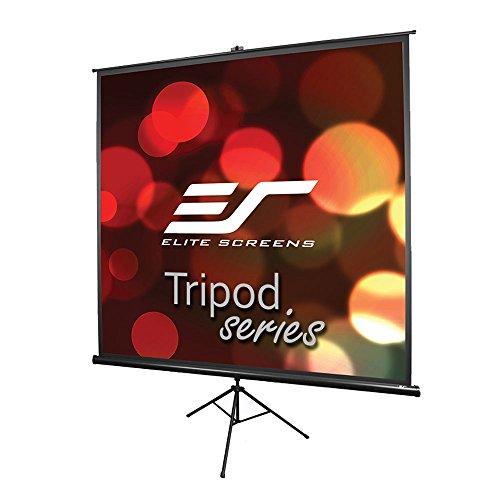 Elite Screens Tripod Series, 136-INCH 1:1, Adjustable Multi Aspect Ratio Portable Indoor Outdoor Projector Screen, 8K / 4K Ultra HD 3D Ready, 2-Year Warranty, T136UWS1