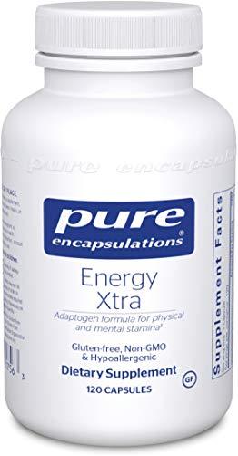 Pure Encapsulations - Energy Xtra - Energy-Promoting Adaptogen Formula - 120 Capsules