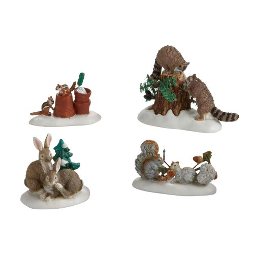 Department 56 Accessories for Villages Friendly Neighbors Accessory Figurine