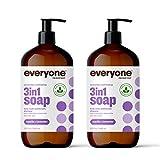 Everyone 3-in-1 Soap, Body Wash, Bubble Bath,...