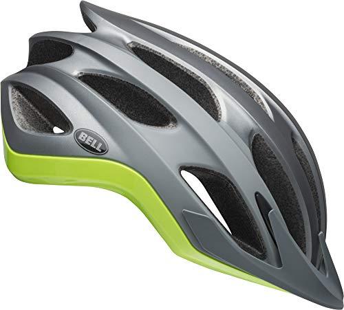 Bell Drifter MIPS Adult Road Bike Helmet (Thunder Matte/Gloss Gunmetal/Green (2019), Medium) Bell Road Bike Helmets