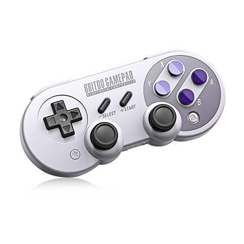 8Bitdo SN30 Pro,Wireless Bluetooth Controller with Classic Joystick Gamepad for iOS,Mac,PC,Android,Windows,macOS - Nintendo Switch (SN30 Pro)
