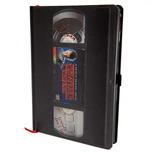 Cuaderno de notas A5 Premium – Stranger Things (VHS)