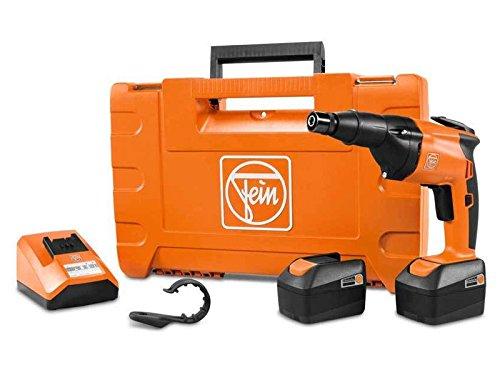 FEIN 71131162240 ASCS 6.3/N24 Cordless Metal Screwdriver, 18 V, Orange